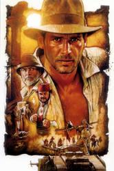 Indiana Jones And The Last Crusade by PhetVanBurton