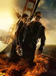 Terminator: Genisys [Hi-Res Textless Poster] by PhetVanBurton