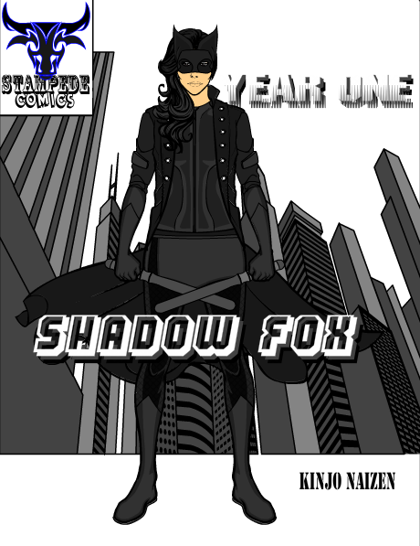Shadow Fox Comic Cover by KyuushinArtist