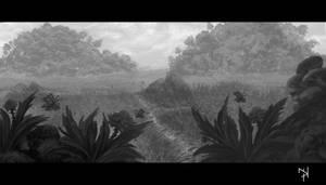 Grey Landscape 1