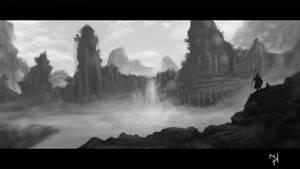 Grey Landscape 2