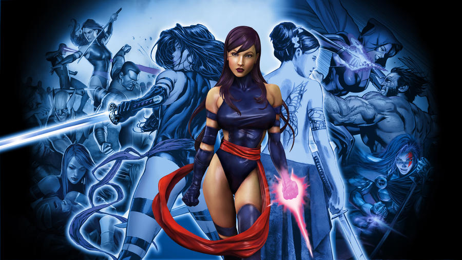 Psylocke Wallpaper By Wadadli Pirate