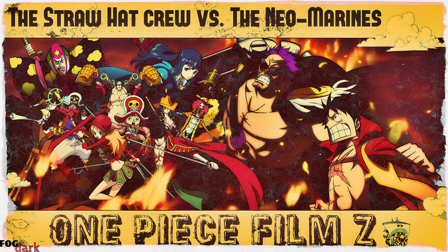 Straw Hats VS Neo Marines! by fogdark