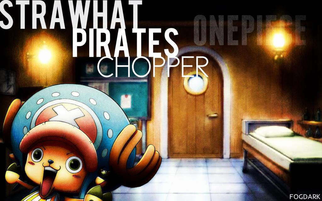 Straw Hat Pirates, Chopper. by fogdark