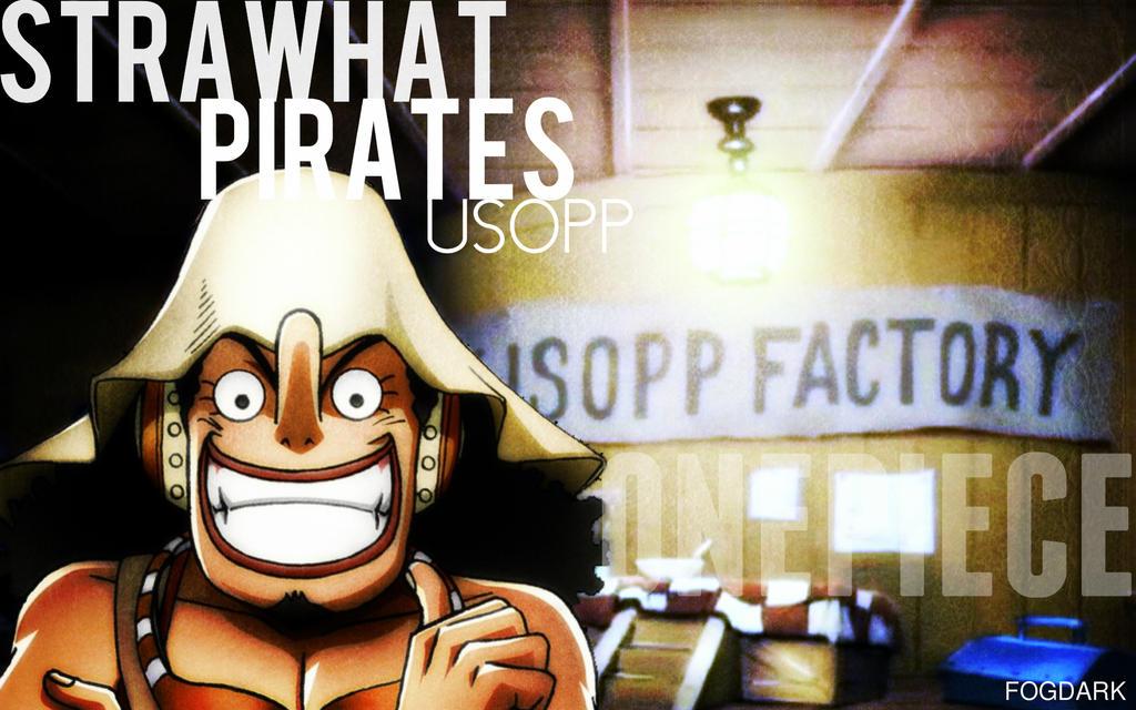 Straw Hat Pirates, Usopp. by fogdark