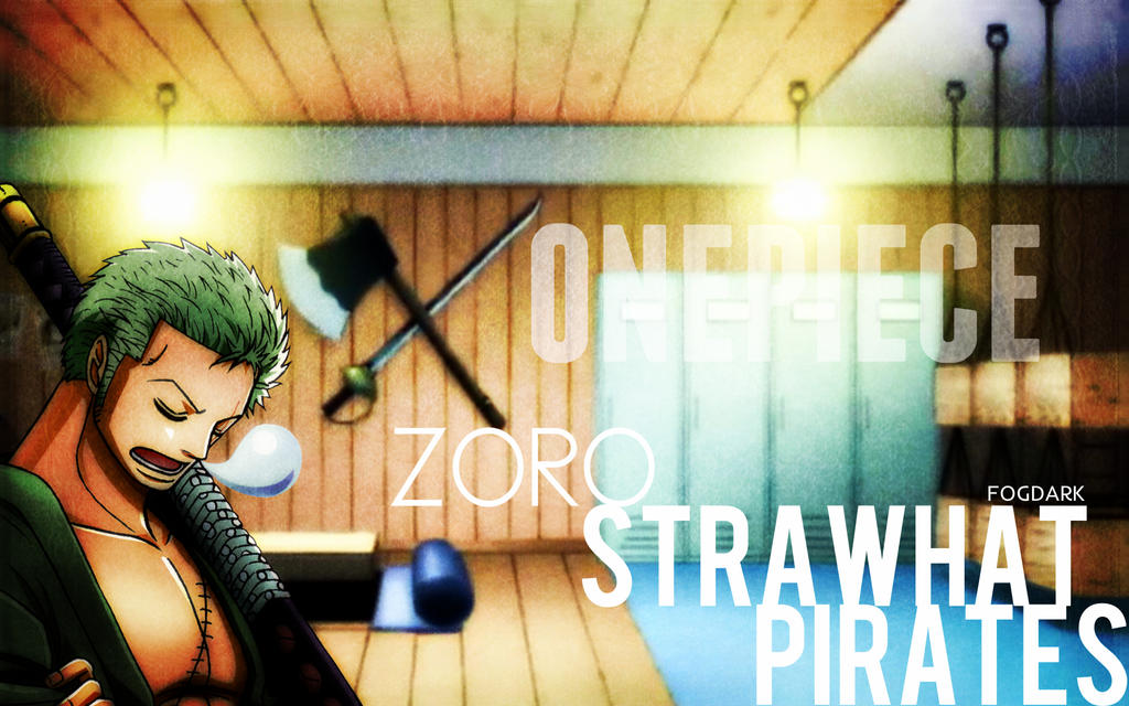 Straw Hat Pirates, Zoro. by fogdark