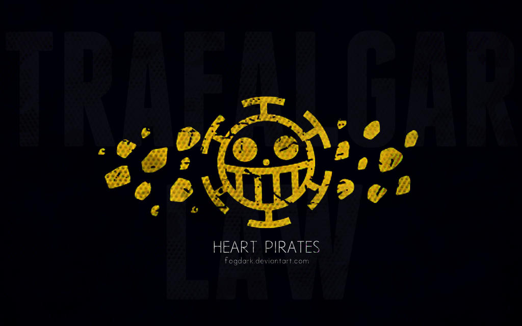 Minimalistic Heart Pirates wallpaper by fogdark