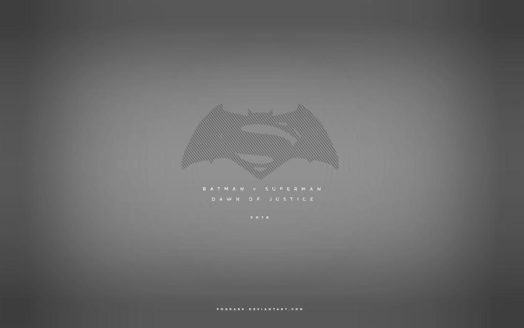 Batman V Superman Minimalistic Wallpaper By Fogdark