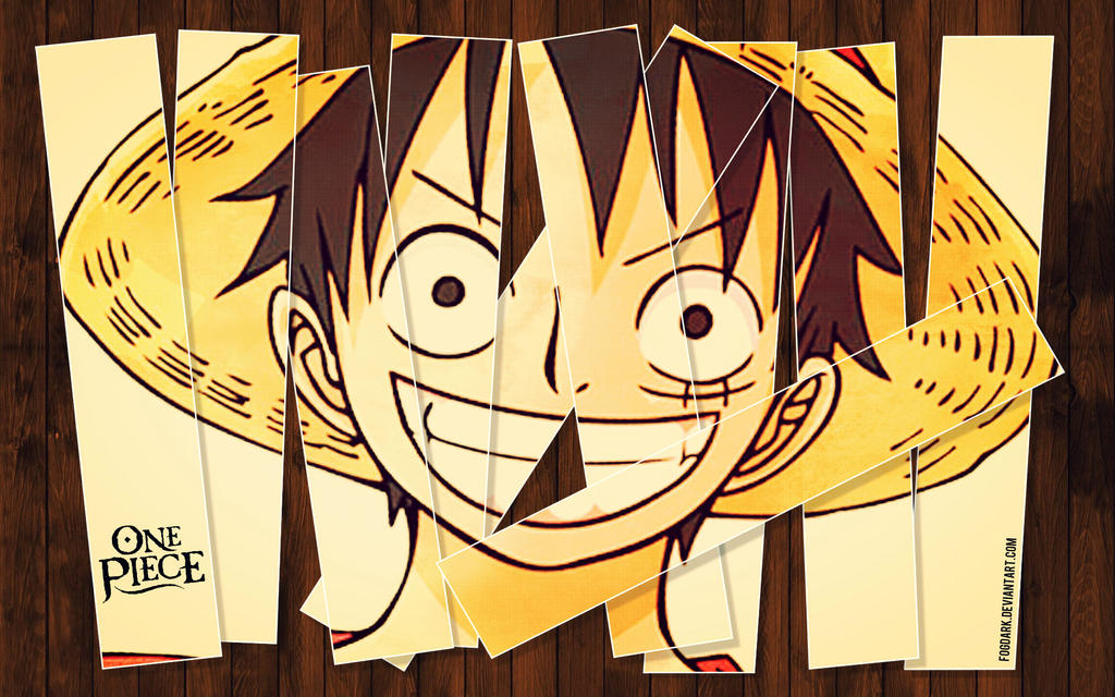 Cut-Up Luffy!? by fogdark