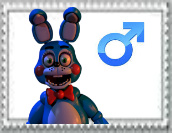 Male toy bonnie stamp by Larrydog123