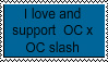 Oc x Oc slash stamp by bowserkid123