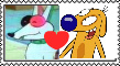 rude dog x Dog stamp by bowserkid123