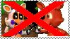 anti foxy X lolbit stamp by Larrydog123