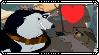 Balto x Steele Stamp by Larrydog123