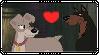 Buster x Tramp Stamp by Larrydog123