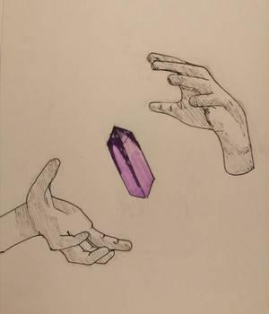 Inktober day 1: crystal