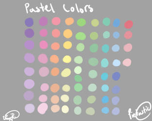 Pastel Color Palette by atisutomaria