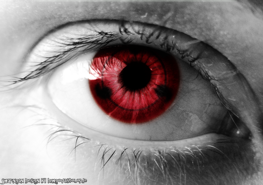 Eye of the Sharingan Design by Ichgovastolorde