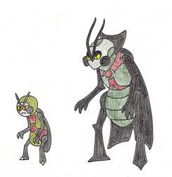 Cockroach Fakemon: Anthroach and Despoach