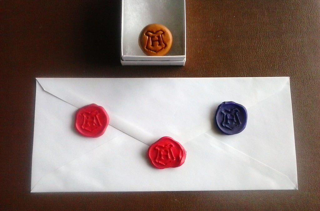 Hogwartz Stamp/Seals by alternativeicandy