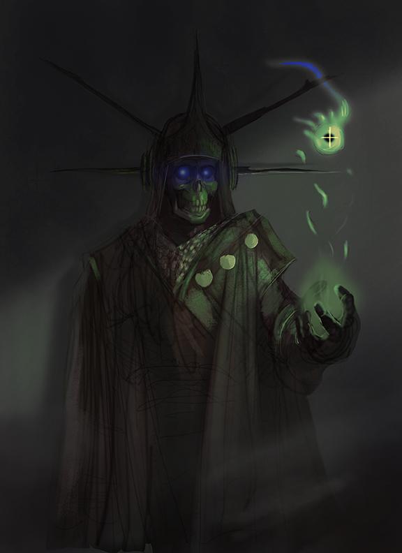 Warlock #1 by Rainbows-Or-Knives