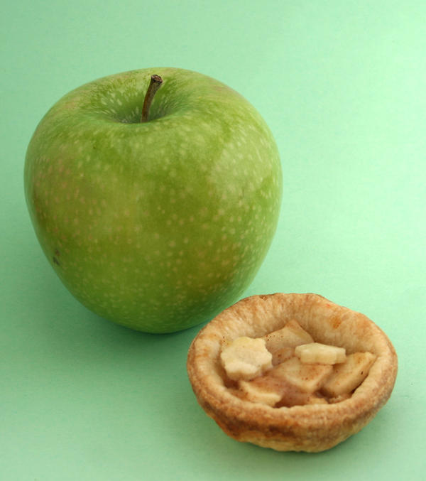 apple small pies recipe / mini tortine di mele