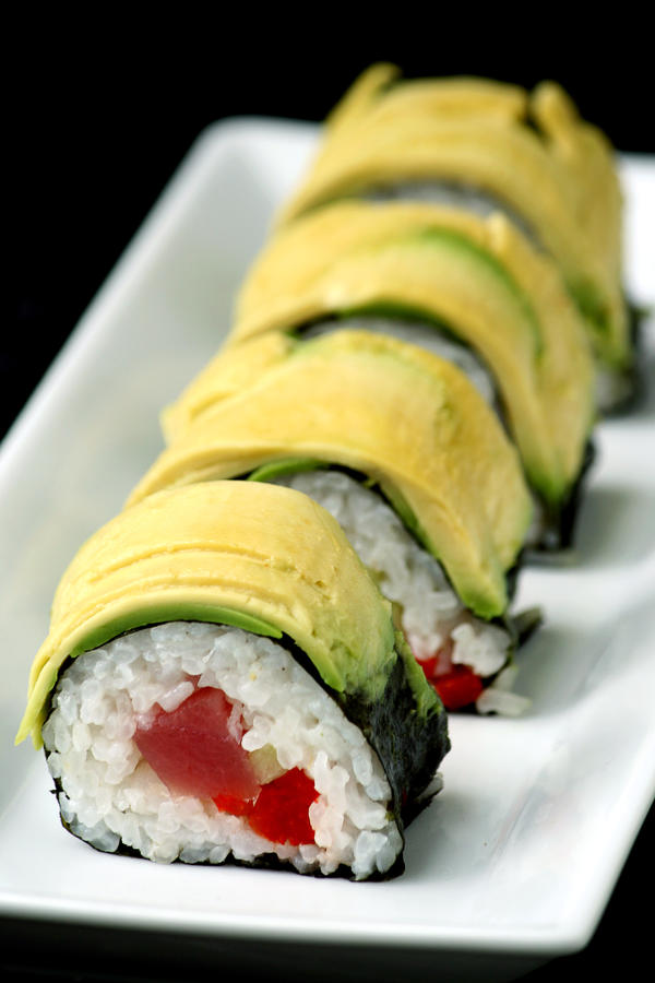 Tuna Red Pepper Roll 2 by bittykate