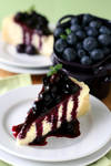 Blueberry Cheese Cake 1 by bittykate