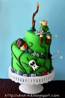 Legend of Zelda Cake by bittykate