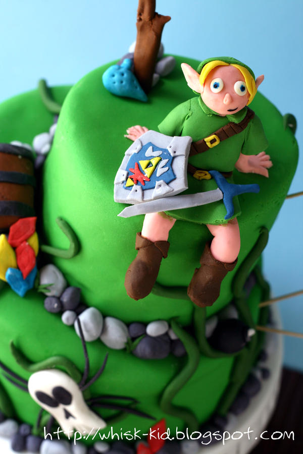 Legend of Zelda Cake 2 by bittykate