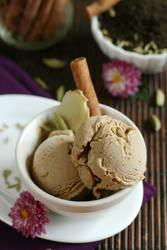 Chai Ice Cream by bittykate