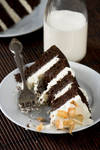 Choc Coconut Milk Cake 1