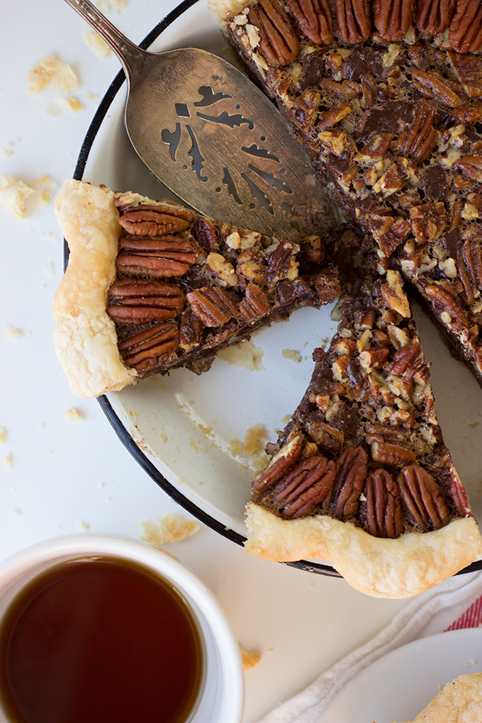 Bourbon Chocolate Pecan Pie by bittykate