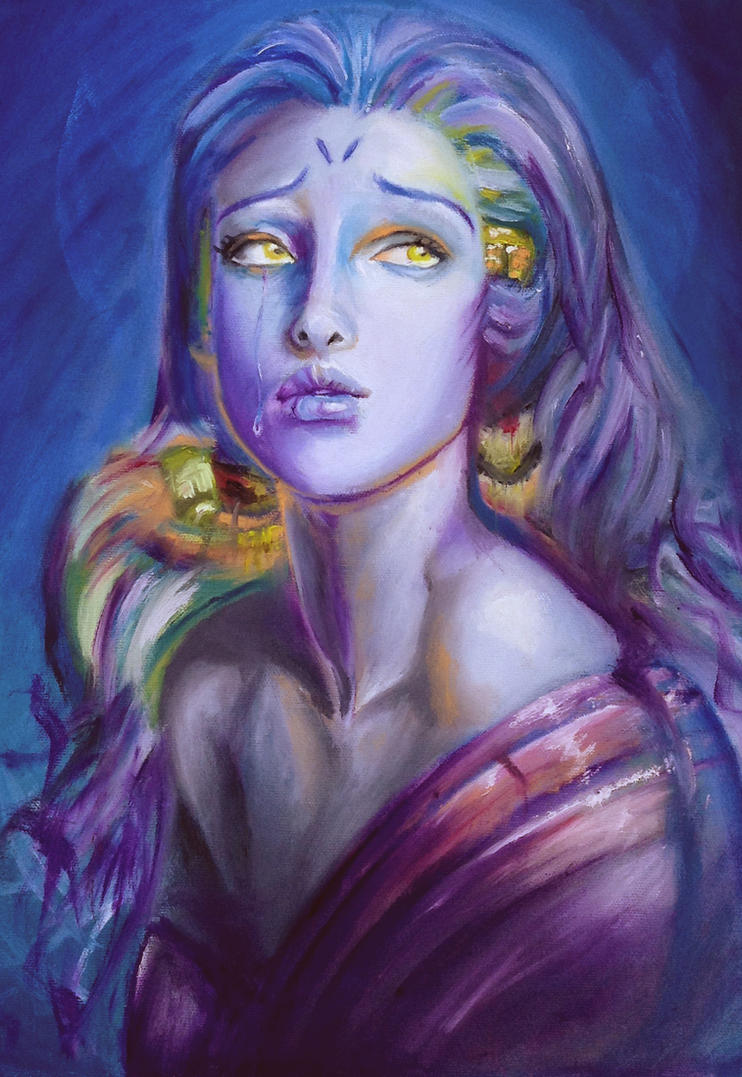 Mademoiselle Bleu by emmgoyer7
