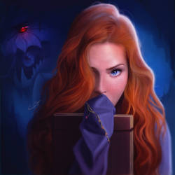 Shallan And The Chasmfiend