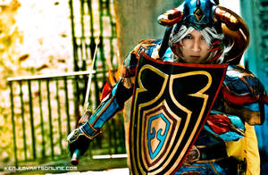 warrior of light: EXMODE 2 by okageo