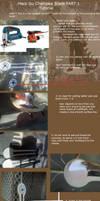 Haseo Chainsaw Blade Tutorial by okageo