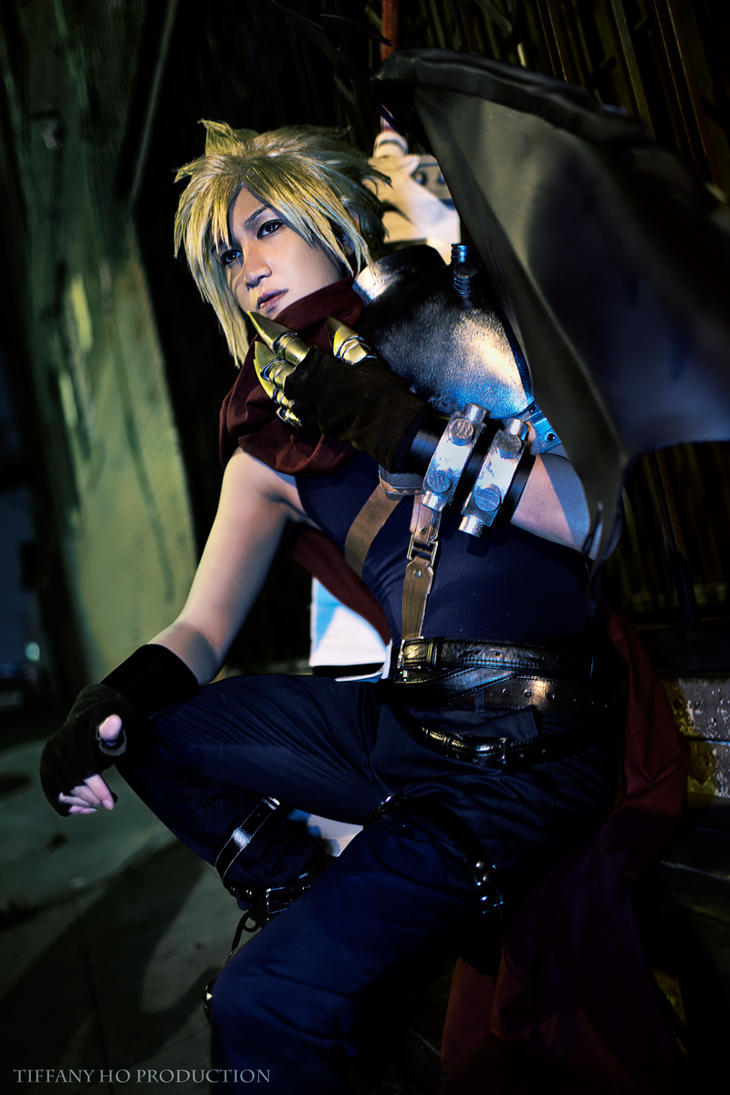 Kingdom hearts cloud by okageo