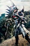 Monster Hunter Akantor armor