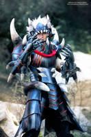 Monster Hunter Akantor by okageo