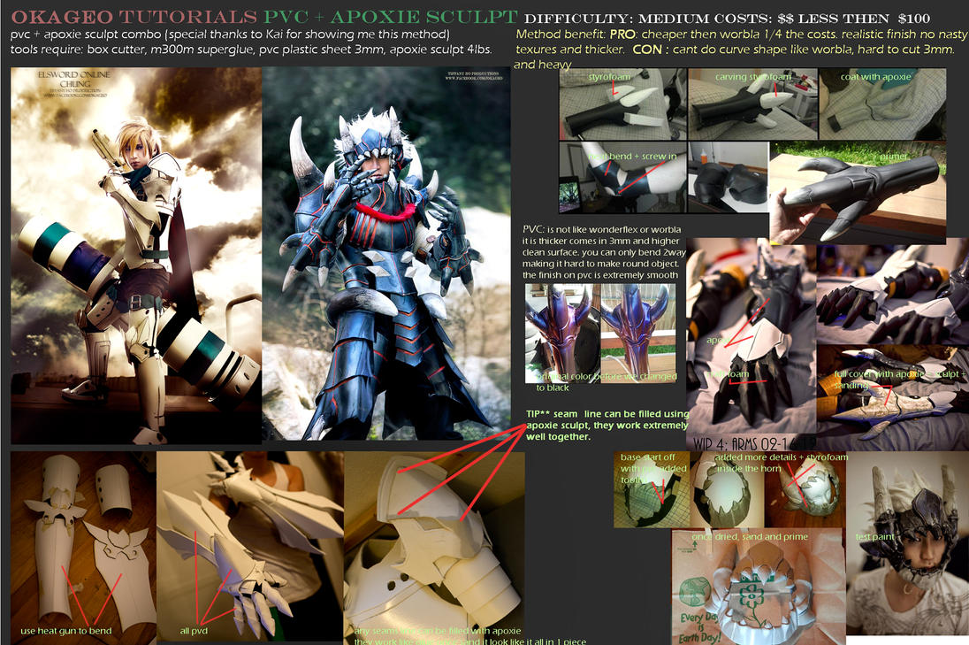 Okageo Tutorial #3 PVC + Apoxie sculpt by okageo