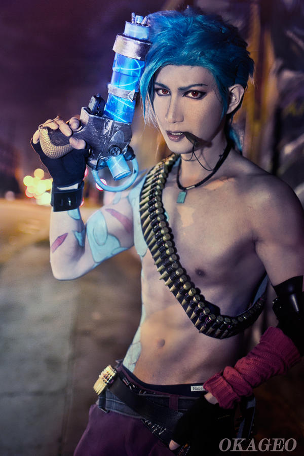 Male Jinx by okageo