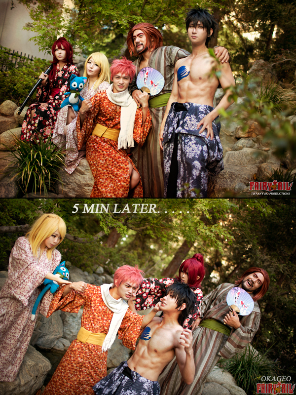 Fairy Tail Summer by okageo