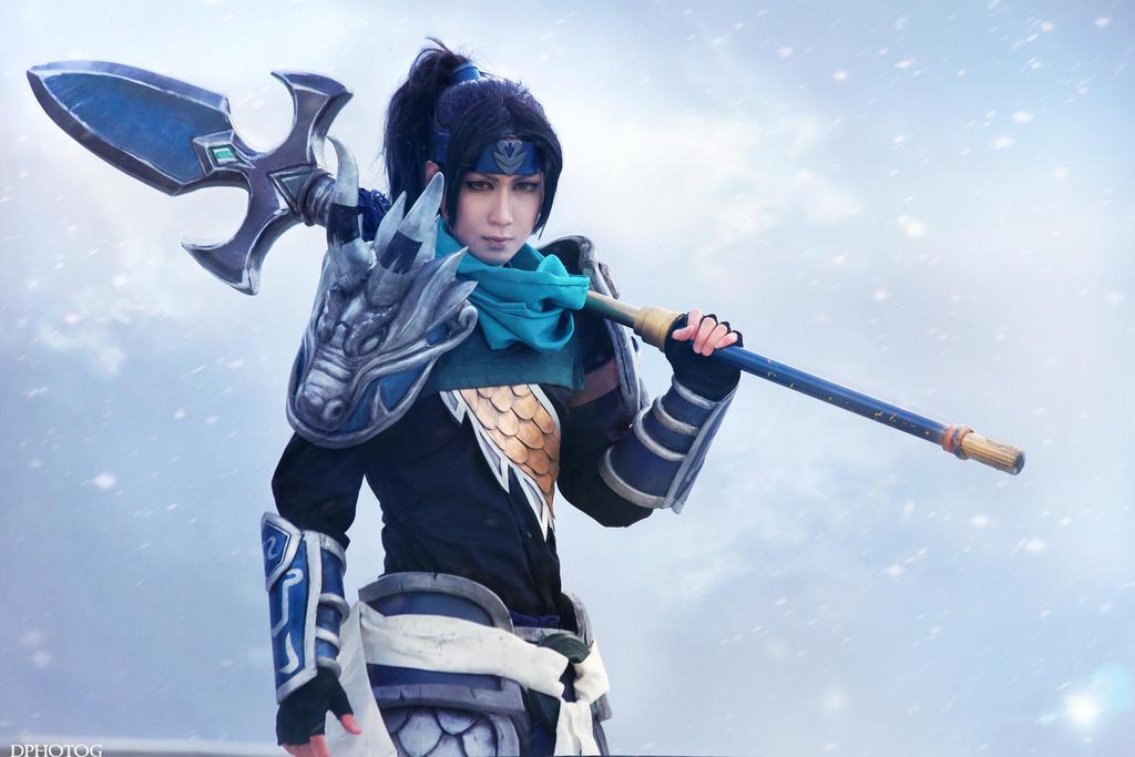 Xin Zhao by okageo
