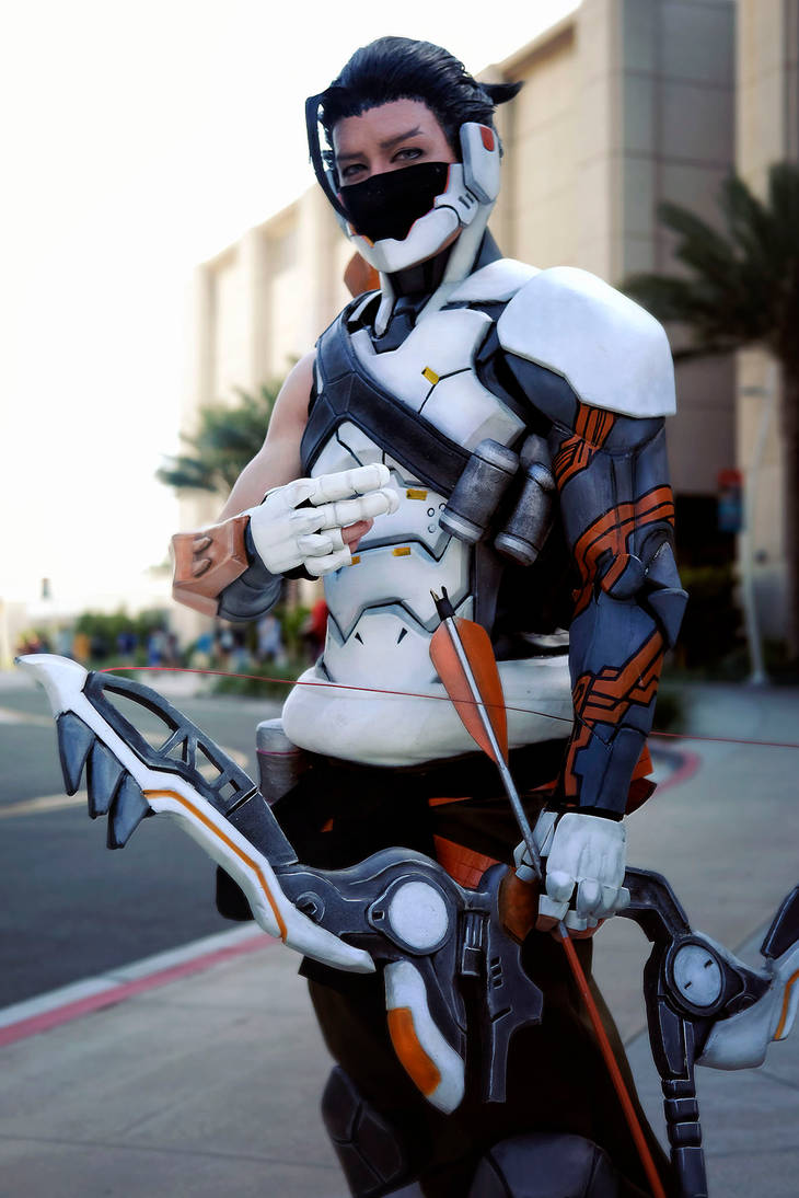cyborg hanzo by okageo