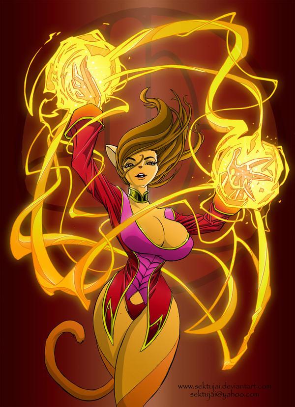 Fire Lionessss by sektujai