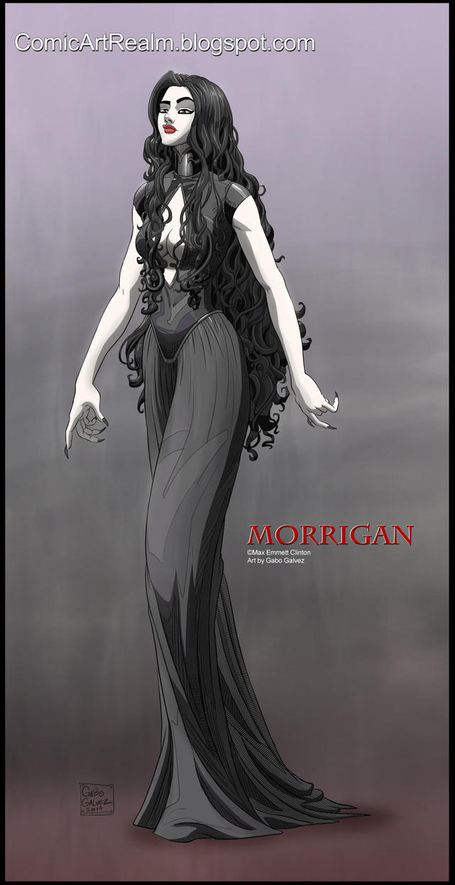 Commission: the Morrigan by sektujai