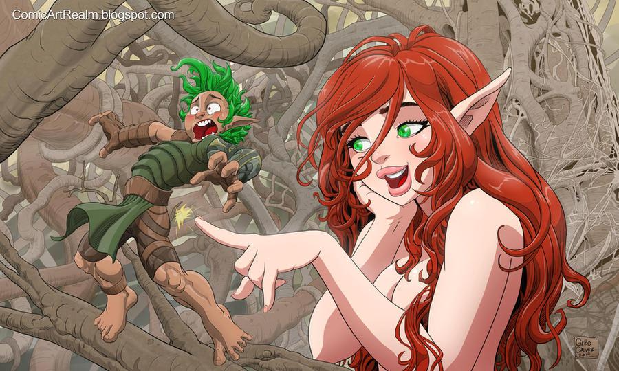 Fairies of Balete by sektujai