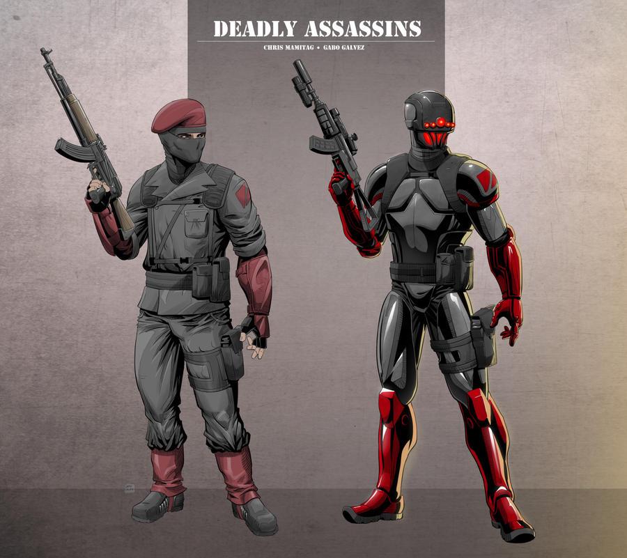 Commission Deadly Assasins by gabogalvez