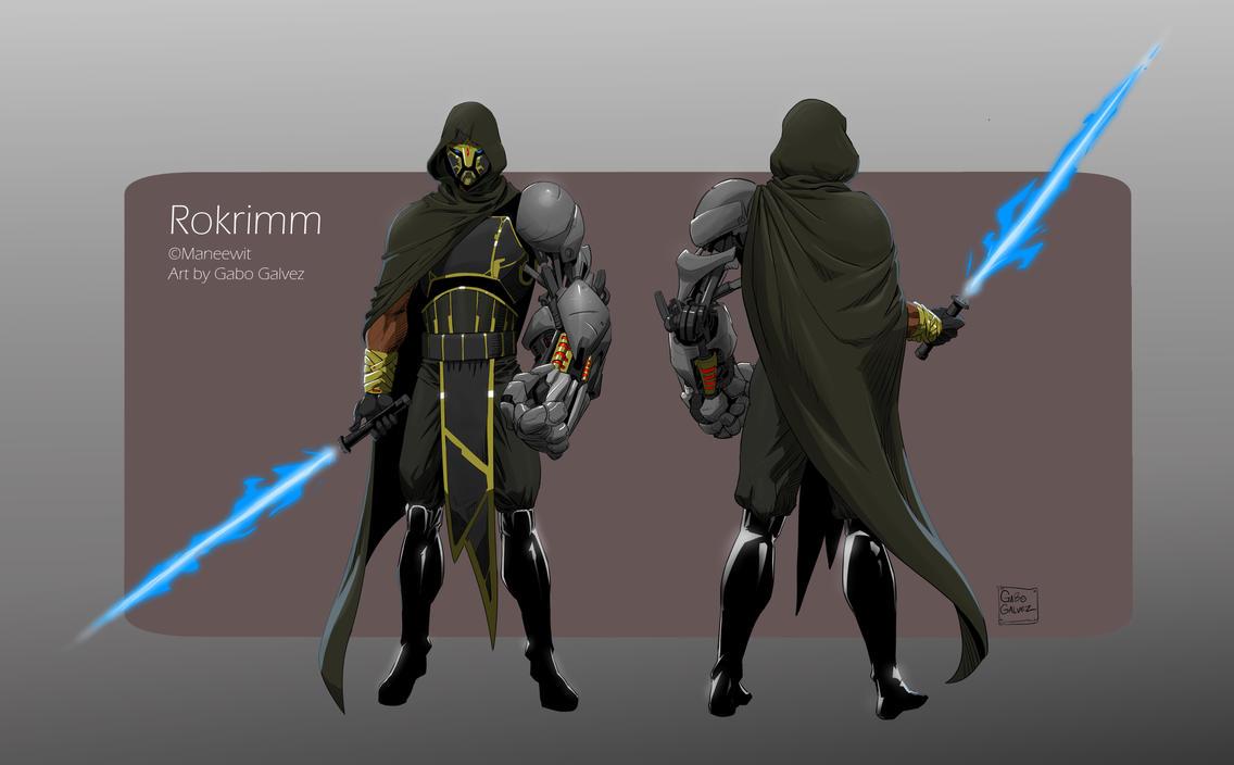 Character Design Commission: Rokrimm by gabogalvez